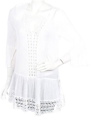 Eberjey White Cotton Top for Women