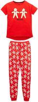 Very Girls Gingerbread Christmas Pyjamas