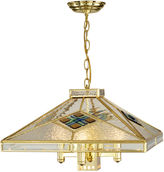 Dale Tiffany Dale TiffanyTM Clear Fused 4-Light Hanging Fixture