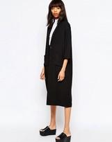 Monki Oversized Duster Coat