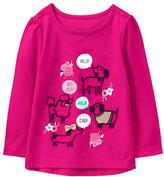 Gymboree Hello Pups Tee