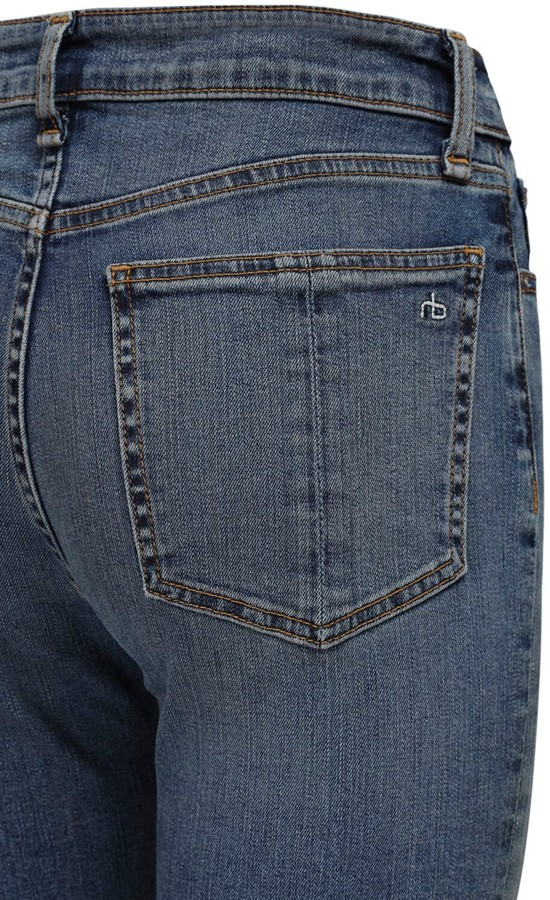 Thumbnail for your product : Rag & Bone Nina High Waist Flared Denim Jeans