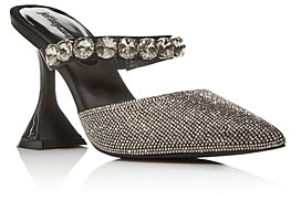 Jeffrey Campbell Women's Zavot Embellished High-Heel Mules