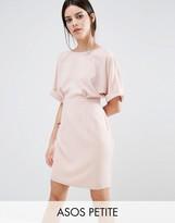 Asos Mini Smart Woven Dress with V Back