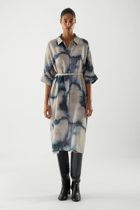Cos Tie-Dye Shirt Dress