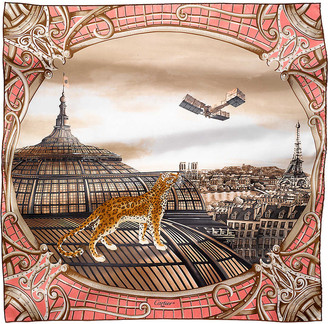 Cartier Odyssee de silk scarf
