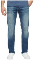 Mavi Jeans Zach Regular Rise Straight Leg in Mid Used Authentic Vintage Men's Jeans