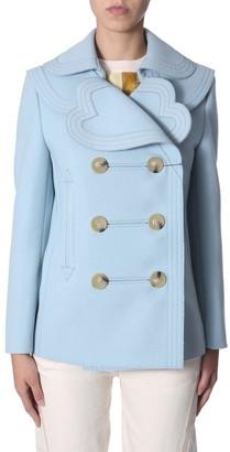 Lanvin Heart Collar Coat