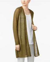 Eileen Fisher Open-Front Cardigan, Regular and Petite