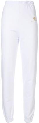 Chiara Ferragni logo print track pants