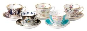 Royal Albert 100 Years 1900-1940 5-Piece Teacup & Saucer Set