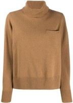 Sacai roll neck jumper