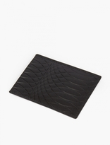 Paul Smith Black No. 9 Embossed Leather Cardholder
