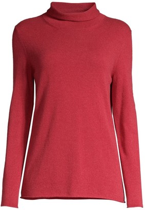 Peserico Mockneck Wool Silk Cashmere Sweater