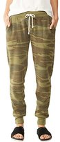 Alternative Women's Printed Eco Fleece Jogger Pant