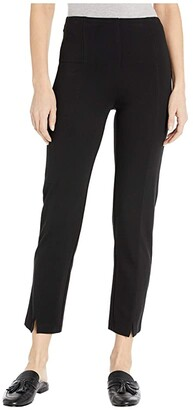 Lysse Wisteria Ankle Pants in Lightweight Ponte (Black) Women's Casual Pants