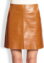 MiH Jeans Leather Skirt