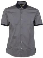 Michael Kors Slim Fit Square Print Shirt