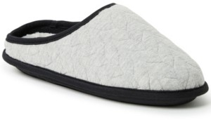 Dearfoams Women's Cable Quilt Clog Slippers, Available in Wide Width, Online Only