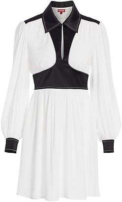 STAUD Dolly Long-Sleeve Dress