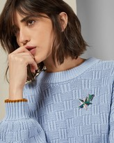Ted Baker Knitted Wool Blend Jumper