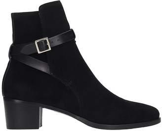 L'Autre Chose Lautre Chose LAutre Chose Ankle Boots In Black Suede