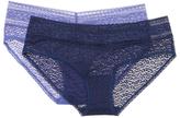 Calvin Klein Underwear Bare Lace Hipster Brief (2 PK)