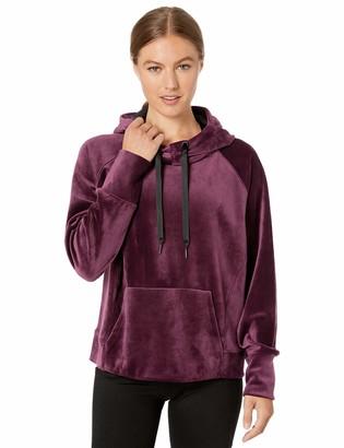 Core 10 Amazon Brand Women's Luxe Velvet Yoga Hoodie