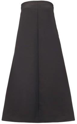 Totême Sabadell Strapless Dress - Black