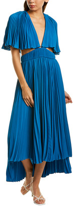 AMUR Dara Midi Dress