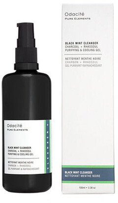 Odacité Black Mint Cleanser - Purifying &and Cooling Gel