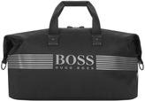 BOSS GREEN Pixel Holdall Bag Black