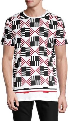 Antony Morato Geometric-Print Cotton Tee