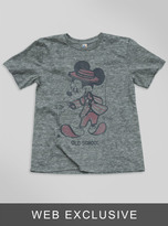 Junk Food Clothing Kids Boys Mickey Mouse Tee-steel-m