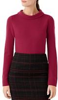 Hobbs London Audrey Funnel-Neck Sweater