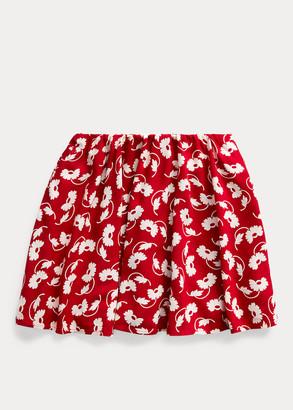 Ralph Lauren Floral Skater Skirt