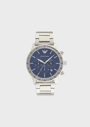 Emporio Armani Chronograph Stainless Steel Watch