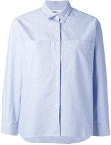 Margaret Howell boxy button-up shirt - women - Cotton - M
