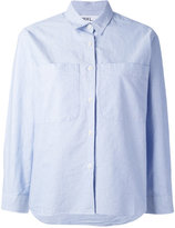 Margaret Howell boxy button-up shirt - women - Cotton - S