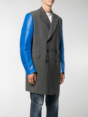 Junya Watanabe Contrast Sleeve Coat