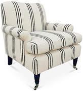 Kim Salmela Paige Accent Chair - Black/Cream