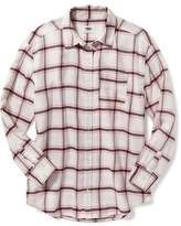 Old Navy Flannel Boyfriend Shirt for Girls