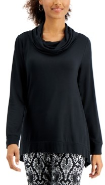 Willow Drive Printed Cowlneck Tunic