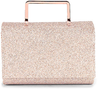Olga Berg Ariana Glitter Top Handle Bag