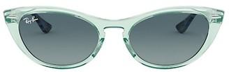 Ray-Ban RB4314N 54MM Icons Cat Eye Sunglasses
