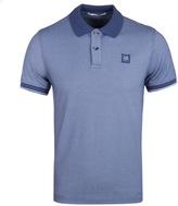 Cp Company Royal Blue Tacting Short Sleeve Polo Shirt