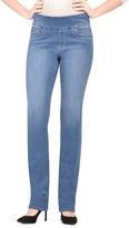 Light Blue Slim Leg Jeans - Plus
