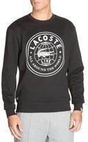 Lacoste Men's Molleton Worldwide Sweatshirt