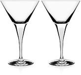 Orrefors Intermezzo Satin Martini Glass