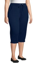 Just My Size Plus Size French Terry Capris